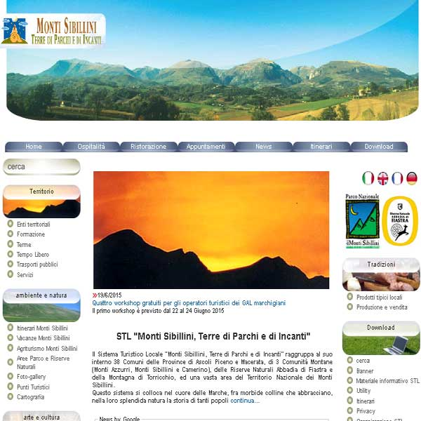 Sito turismo macerata